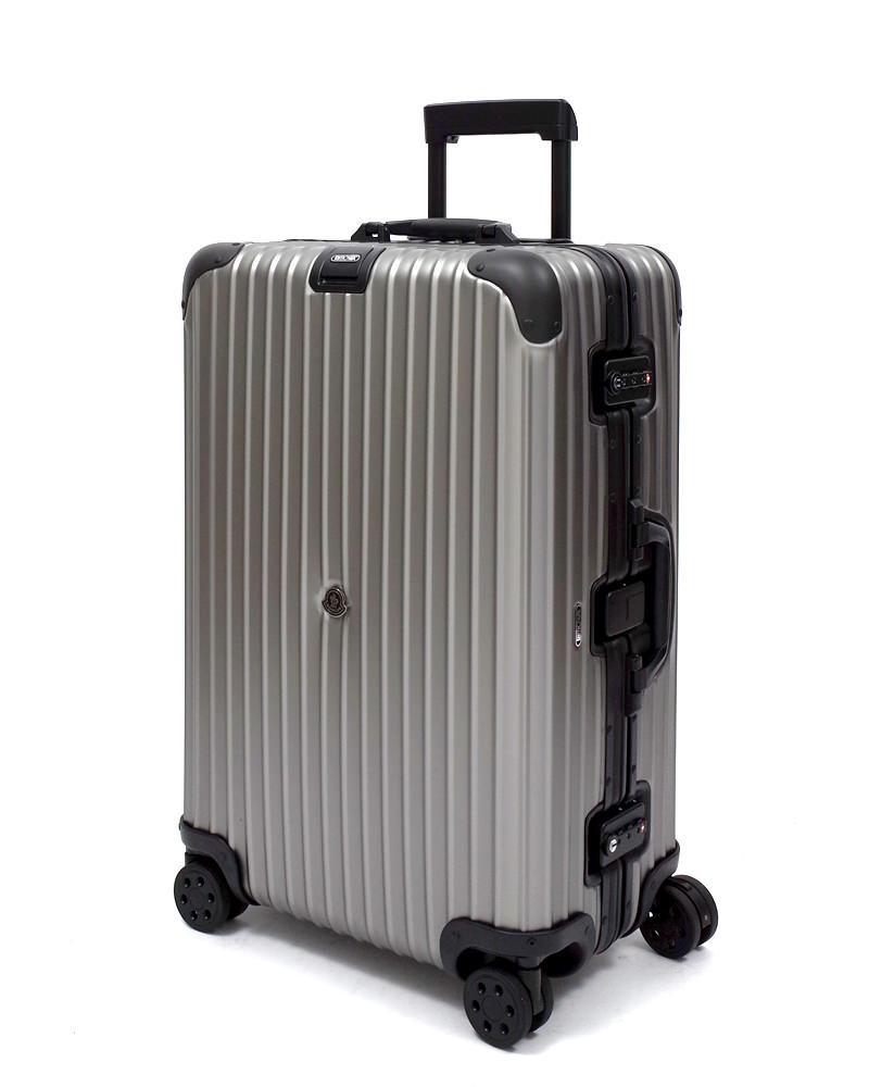 【64L】リモワ&モンクレール限定 スーツケース 4輪