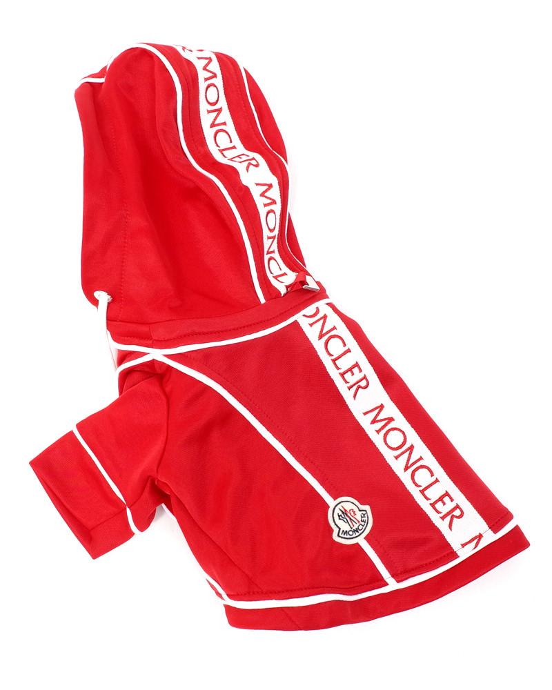 MONCLER(モンクレール) MONDOG ドッグウェア 袖付き レッド 在庫商品画像