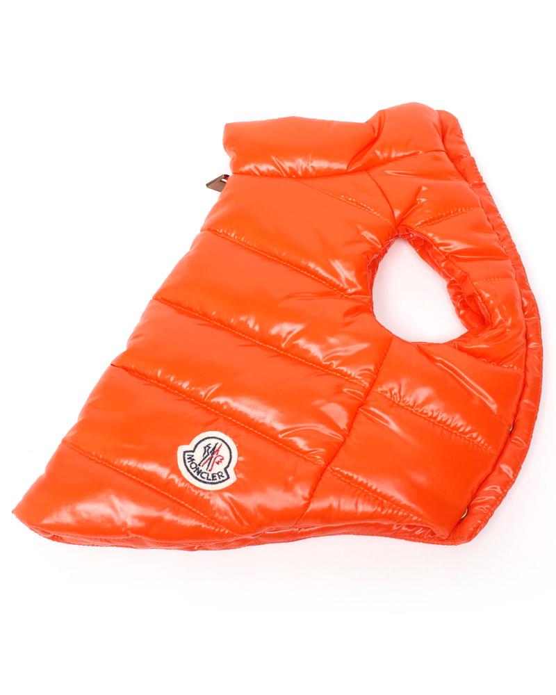 モンクレール MONDOG 犬用ダウン オレンジ 在庫商品画像