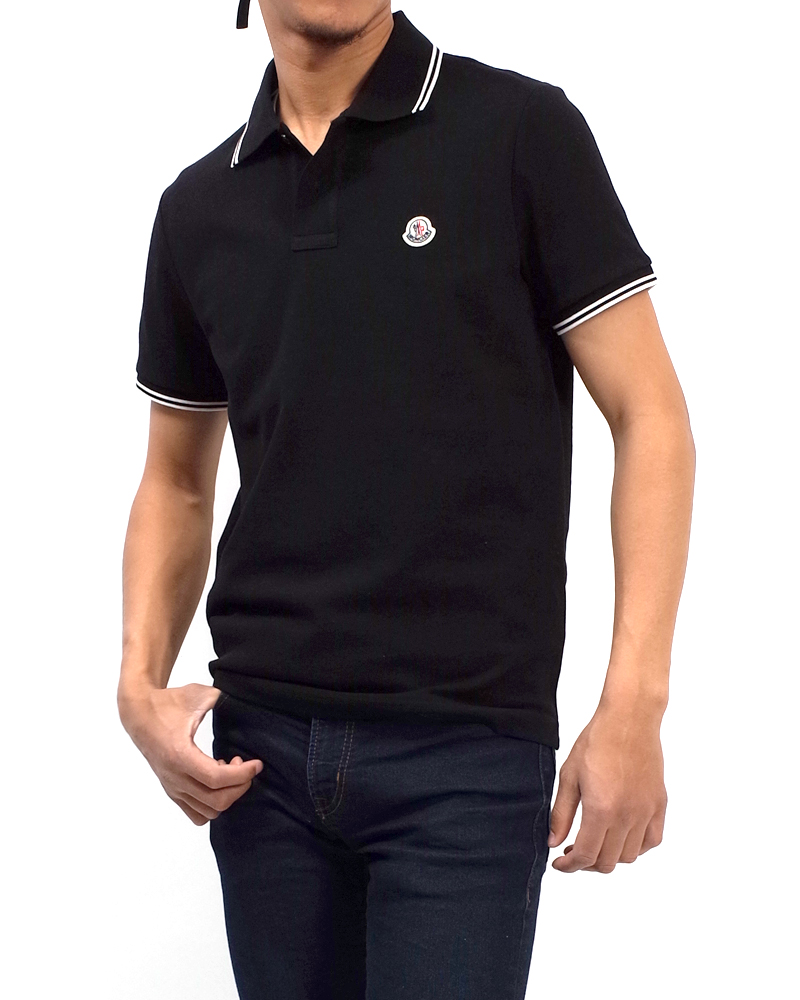 POLOSHIRT ポロシャツ ブラック 在庫商品