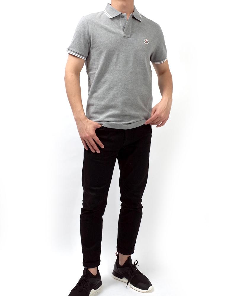 POLOSHIRT ポロシャツ グレー 在庫商品