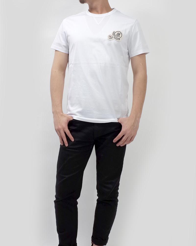 T-SHIRT WロゴTシャツ ホワイト 在庫商品