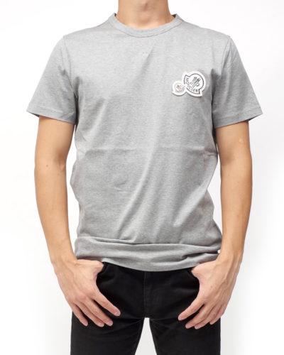 T-SHIRT WロゴTシャツ グレー 在庫商品